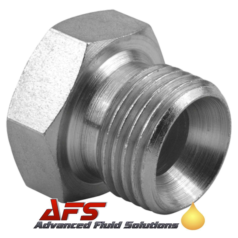 Carbon steel hydraulic blanking plugs caps bsp bspt
