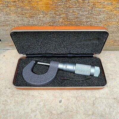 Brown Sharpe 0-1 Micrometer Woriginal Box Wrench Nice