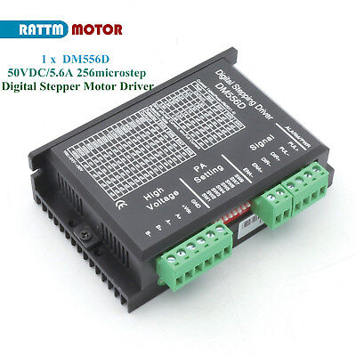 Dm556d 50vdc5.6a Stepping Motor Digital Driver For Cnc Nema17-23 Stepper Motor