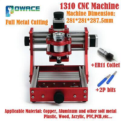 1310 Mini Laser Machine Cnc Router Wood Pvc Full-metal Milling Cutting Engraving