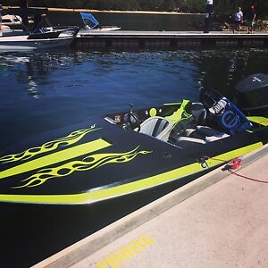 Ski boat yamaha 200 hp - ski boat  serviced with trailer Acacia Gardens Blacktown Area Preview