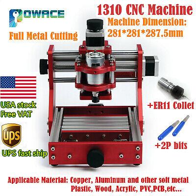 Us1310 Full-metal Mini Laser Machine Cnc Router Wood Milling Cutting Engraving