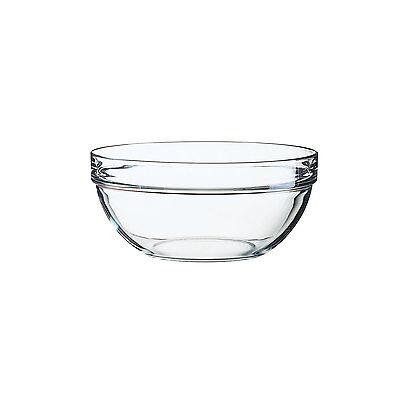 Arcoroc Stapelschale, transparent, H 9,2 cm, Ø 20 cm, 1 Stk. - Glasschale