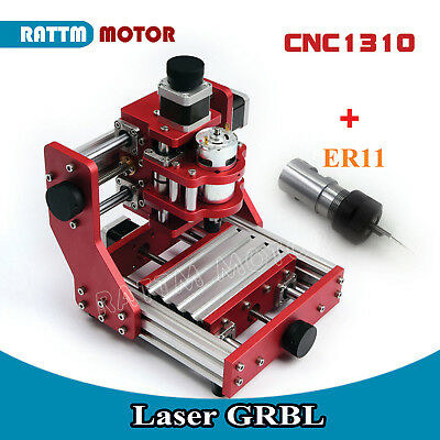 1310 Metal Cutter Cnc Router Aluminum Copper Milling Laser Engraver Machine Kit