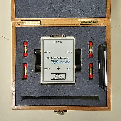 Used Agilent N4430a - 4-port Rf Ecal Module 30 Khz To 6 Ghz