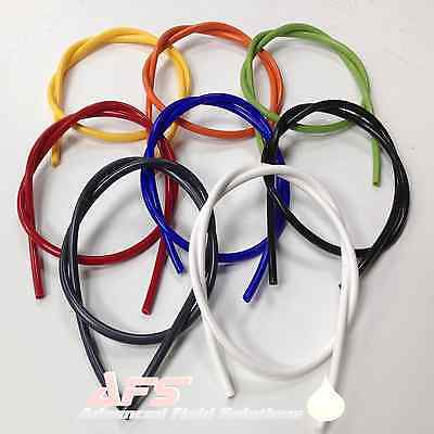 Silicone Vacuum Vac Hose Pipe Tube 3mm 4mm 5mm 6mm 7mm 8mm 9mm 10mm All Colours