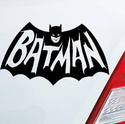 Auto Aufkleber BATMAN Arkham Begins Marvel City Sticker Dark Knight Joker 050