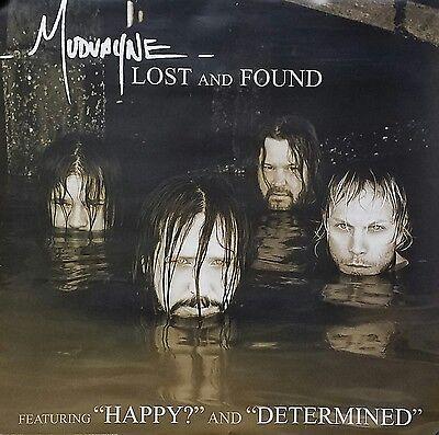 Mudvayne 2005 Lost and Found Original Rare Promo Poster