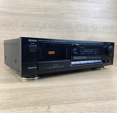 DENON DRM-400 Vintage analogue Hi-Fi Stereo Cassette Recorder JAPAN Dolby B/C