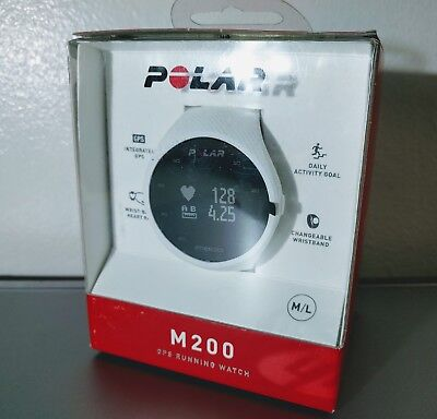 Polar M200 GPS Running Watch w/Wrist-based Heart Rate - White ✔NEW✔ for sale  Shipping to Canada