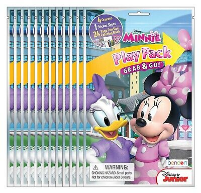 Bendon Disney Minnie Mouse Grab and Go Play Packs (Pack of - Minnie Mouse Pack And Play