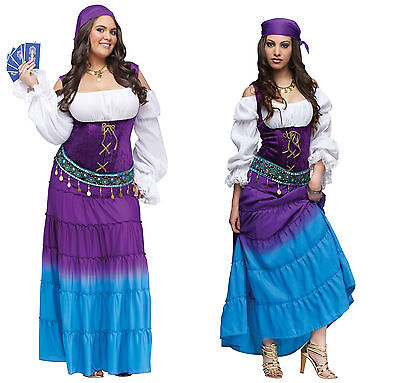 Adult Gypsy Moon Costume - Diamond Collection - 3 sizes Cosplay SCA - Gypsy Moon Costume