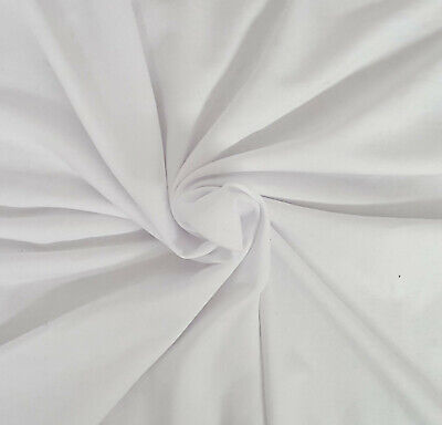 White Hemp Organic Cotton Fleece Fabric by the Yard 10/19 Cotton Fleece Fabric