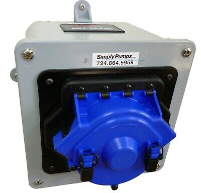 Peristaltic Self Priming Heavy Duty High Flow Rate Tubing Pump 110 Gph Pm6000