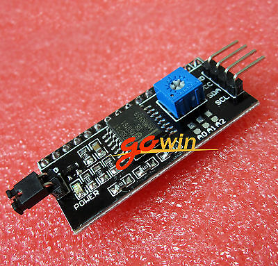 10pcs Iici2ctwispi Serial Interface Board Module Port 1602 Lcd Display