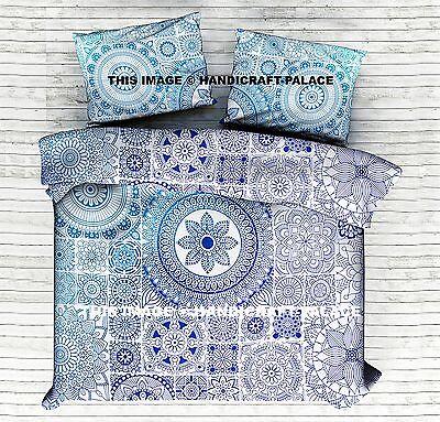Indian Matrix Ombre Mandala Duvet Cover Queen Quilt Comforter Set (Matrix Bedroom Set)