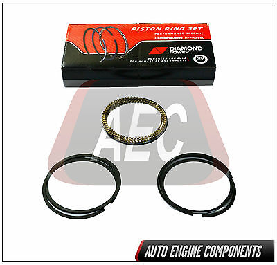 "83-91 Fits Dodge Chrysler Mitsubishi 2.0L SOHC 8V Piston Rings ""Pick Size"" #E455"