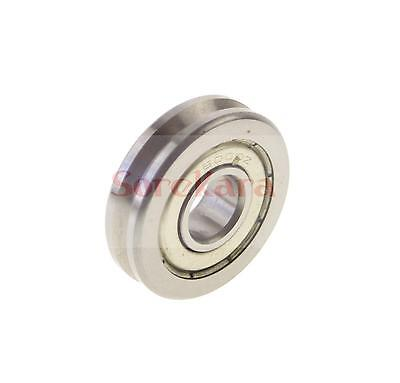 10359mm V Groove Width 4.2mm Guide Pulley Sheave Sealed Rail Bearing V6200zz