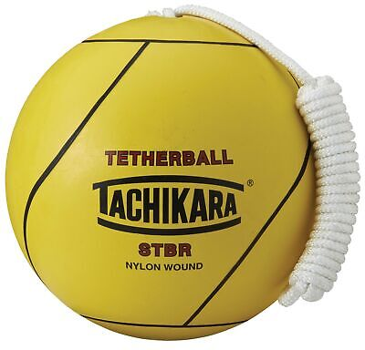 Stbr Rubber Tetherball, Yellow