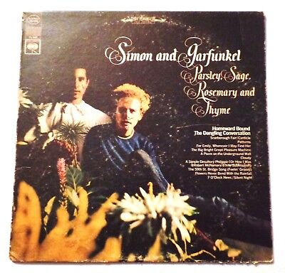 Parsley, Sage, Rosemary and Thyme by Simon and Garfunkel 1966 Vinyl LP Columbia
