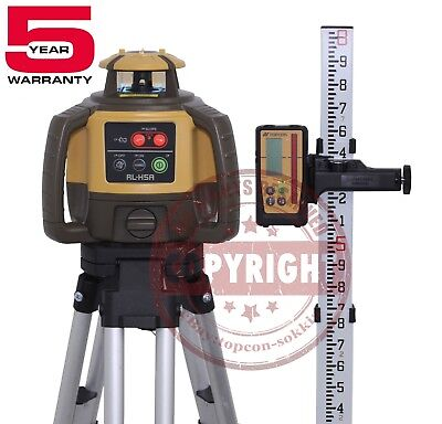 Topcon Rl-h5a Rechargeable Self-leveling Rotary Slope Laser Levelrb Grade10th