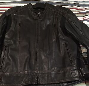 Leather Motorcycle Jacket - Mens Auldana Burnside Area Preview