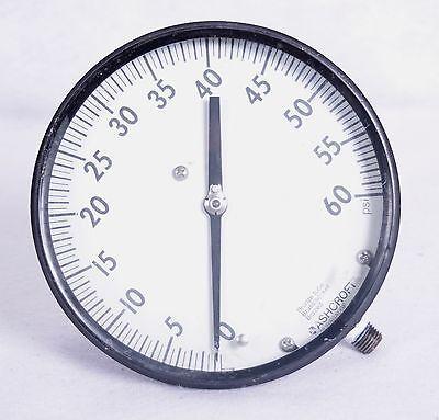 Ashcroft Pressure Gauge 0-60 Psig 12 Q8603