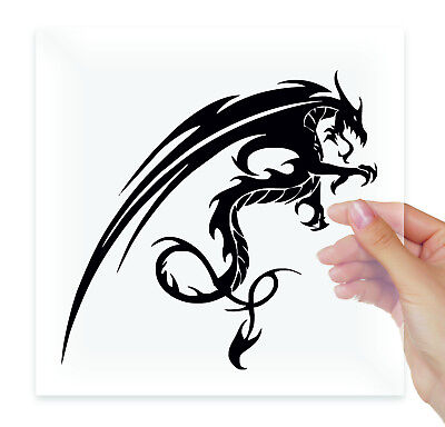 Dragon Vinyl Stickers Decals Laptop Macbook Bumper Moto Car Auto Tablet ()