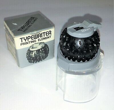 Sears Typewriter Printing Element Script 1012 Unused In Box 35451