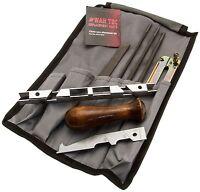 Chainsaw Saw Chain Sharpening Kit C/w File, Gauge Fits Tanaka Users - war tec - ebay.co.uk