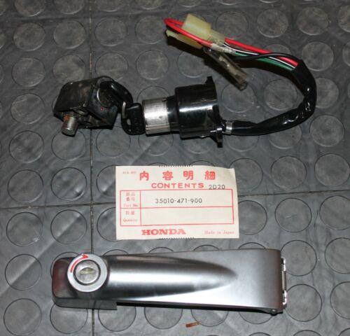 NOS Honda Lock Set 1982-1983 FT500 35010-471-900 FT 500 New BINL