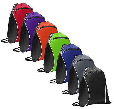 Port Authority Drawstring Backpack Cinch Sack Gym School Sport Bag BG613