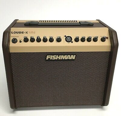 Fishman Loudbox Mini PRO-LBX-500 Acoustic Guitar Amp w/ free cover - virus-free!
