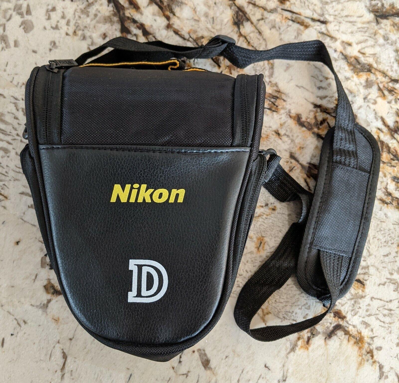 Brand New Nikon D DSLR Models Shoulder Strap Camera Bag Blac