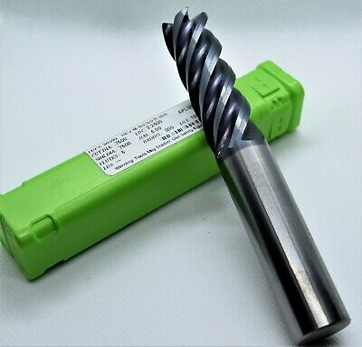 Helical .750 X 34 X 2-14 Loc X 5 5fl Aplus Coated Carbide End Mill