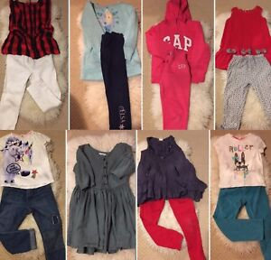 Huge lot 4T girls clothes