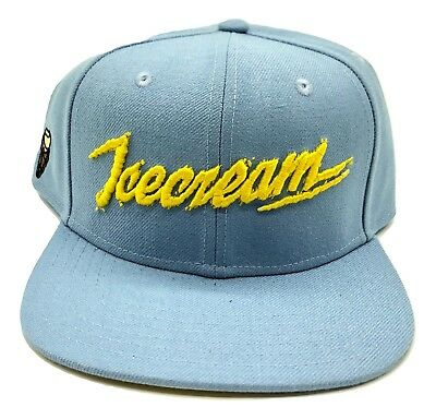 Billionaire Boys Club BB SnapBack Ice Cream Hat Blue Cone BBC Skull Authentic](Ice Cream Hat)
