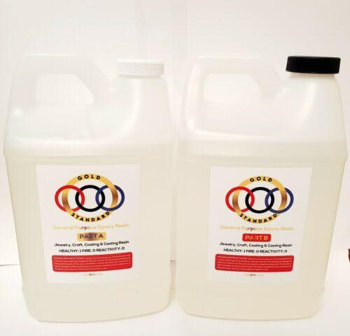 Crystal Clear Gold Standard Epoxy 1 gallon kit