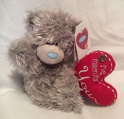 "Me To You Bear - I've Fallen For You - Holding Heart - 5"" Plush - Brand New"