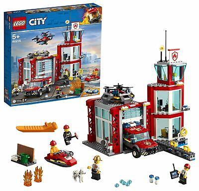 LEGO City Fire Station Building Set 60215