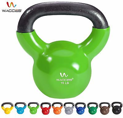 Wacces Kettle-bell for Cross Training Home Exercise Workout All LBS