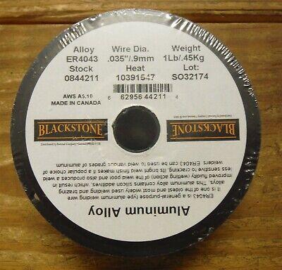 Blackstone Er4043 0.035 Aluminum Alloy Mig Welding Wire 0844211 Free Ship C02