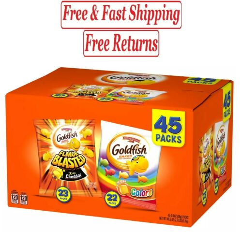 Pepperidge Farm Goldfish Variety Pack (0.9oz / 45pk)