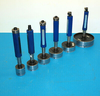 Lot Of 6 Diatest Indicating Plug Bore Gages