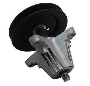 MTD OEM Troy Bilt Tractor Mower Deck Spindle Assembly Pulley Part 918-04822