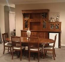 Dining Setting and Buffet plus Coffee Table - Kookaburra Cottage Richmond Hawkesbury Area Preview
