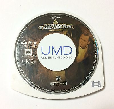 USED PSP Disc Only UMD Video National Treasure JAPAN Nicolas Cage import