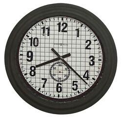 HOWARD MILLER - 625-625 GALLERY GRID IRON  WORKS  WALL CLOCK   625625
