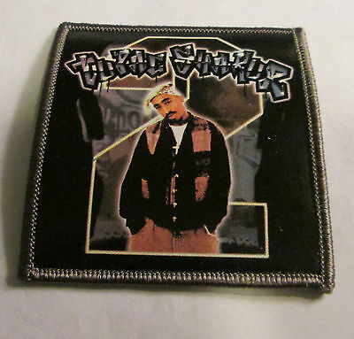 TUPAC 2 PAC  PATCH COLLECTABLE RARE  2005  RAP HIP HOP GOD TUPAC SHAKUR