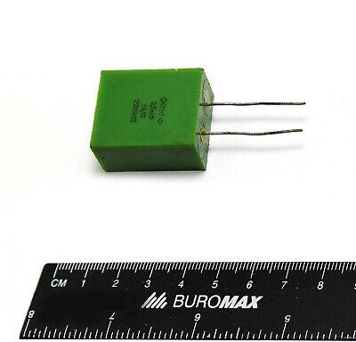 12 Pcs 0.5uf 05uf .5uf 250v 0.5 Polystyrene Audio Capacitors K71-7 Ussr Nos